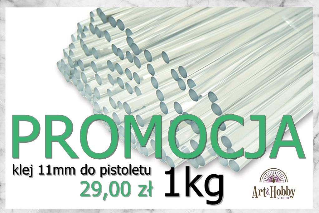 plakat promocja klej do pistoletu 11mm arthobbystudio lublin1