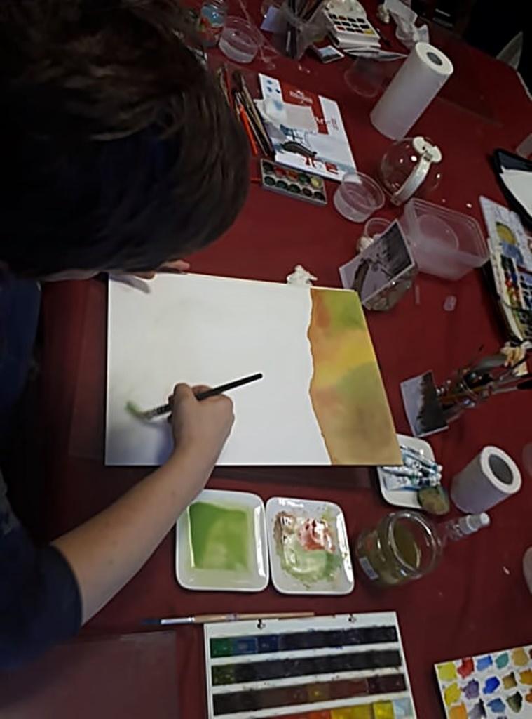 arthobbystudio warsztaty001 20191119patera akwarela artur przybysz