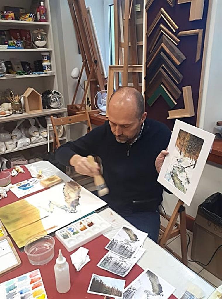 arthobbystudio warsztaty010 20191119patera akwarela artur przybysz