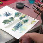 arthobbystudio warsztaty010 20191202akwarela tatiana majewska krajobraz nad woda 150x150