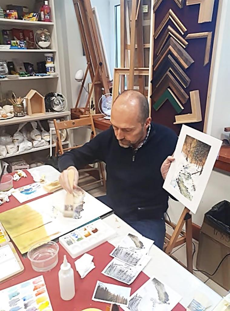 arthobbystudio warsztaty014 20191119patera akwarela artur przybysz