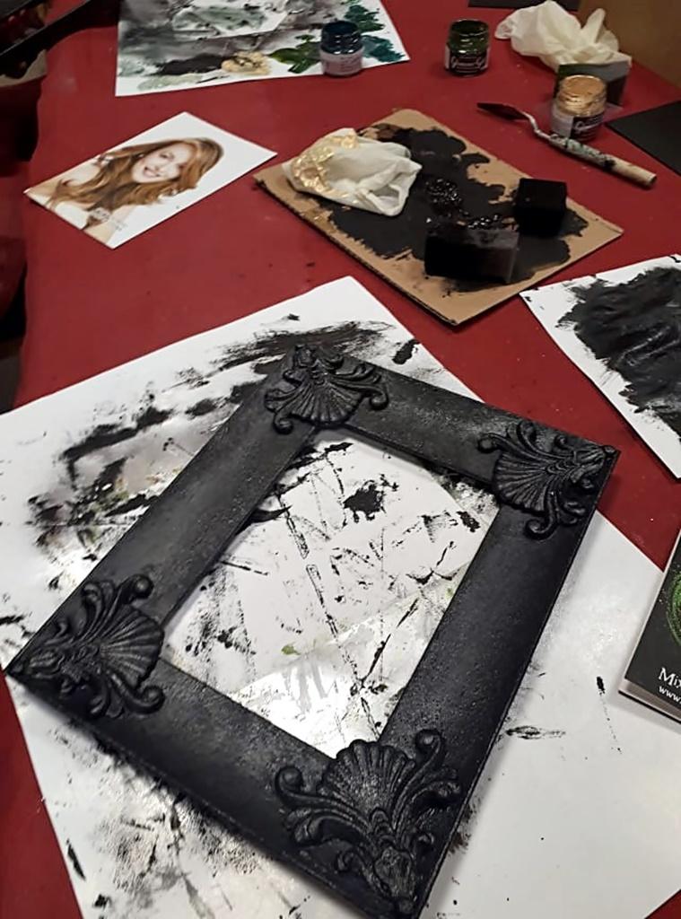 arthobbystudio warsztaty015 20191030efekt lustra ramka