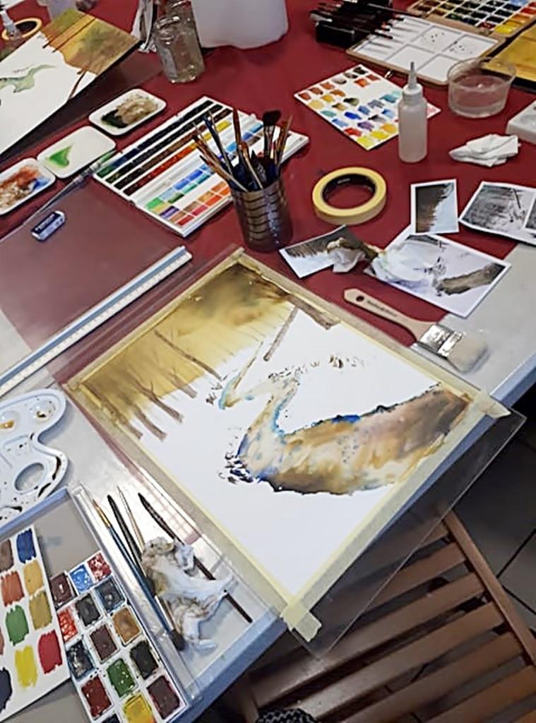 arthobbystudio warsztaty016 20191119patera akwarela artur przybysz