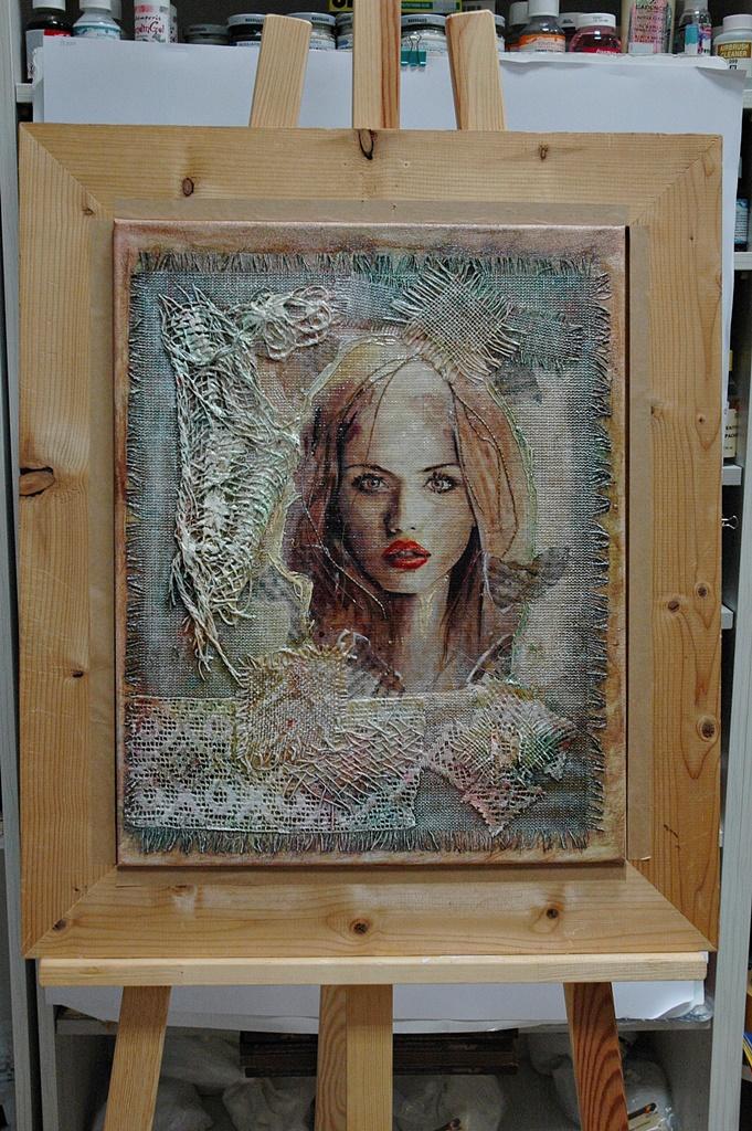 arthobbystudio warsztaty018 20191212powertex obraz struktura transfer