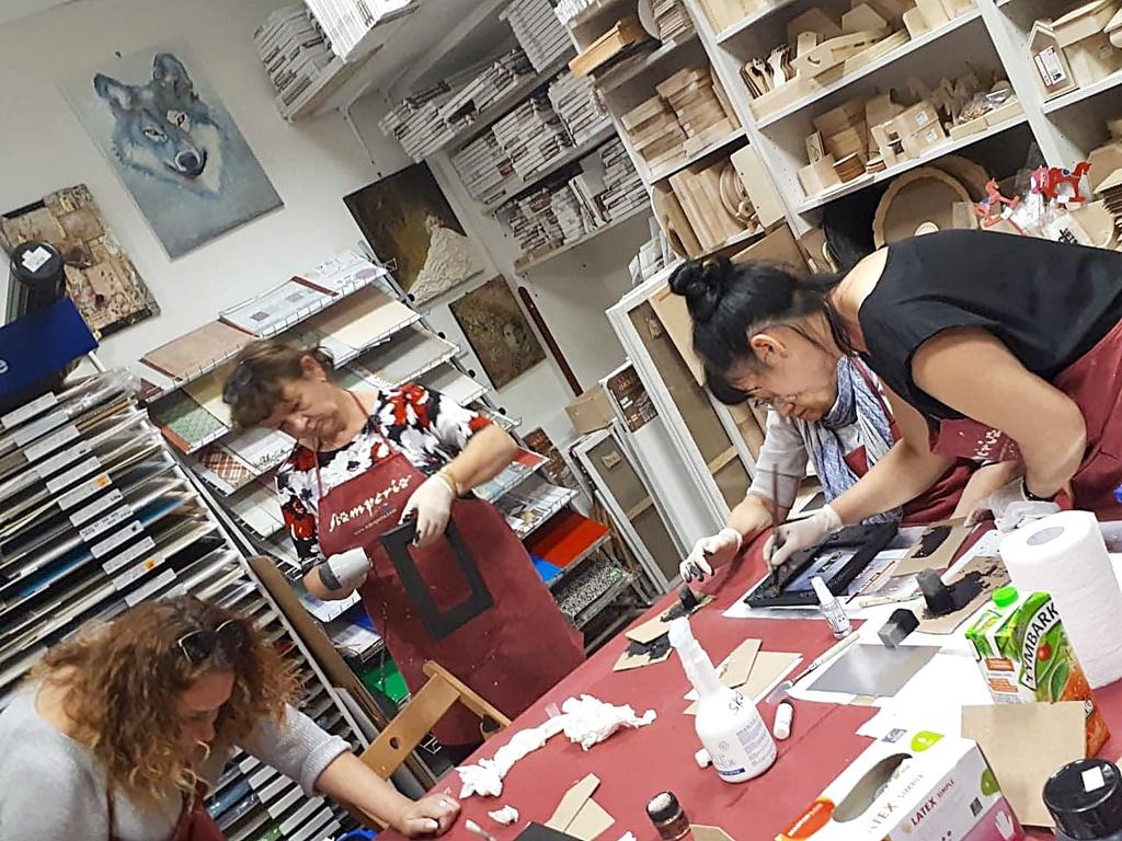 arthobbystudio warsztaty020 20191030efekt lustra ramka