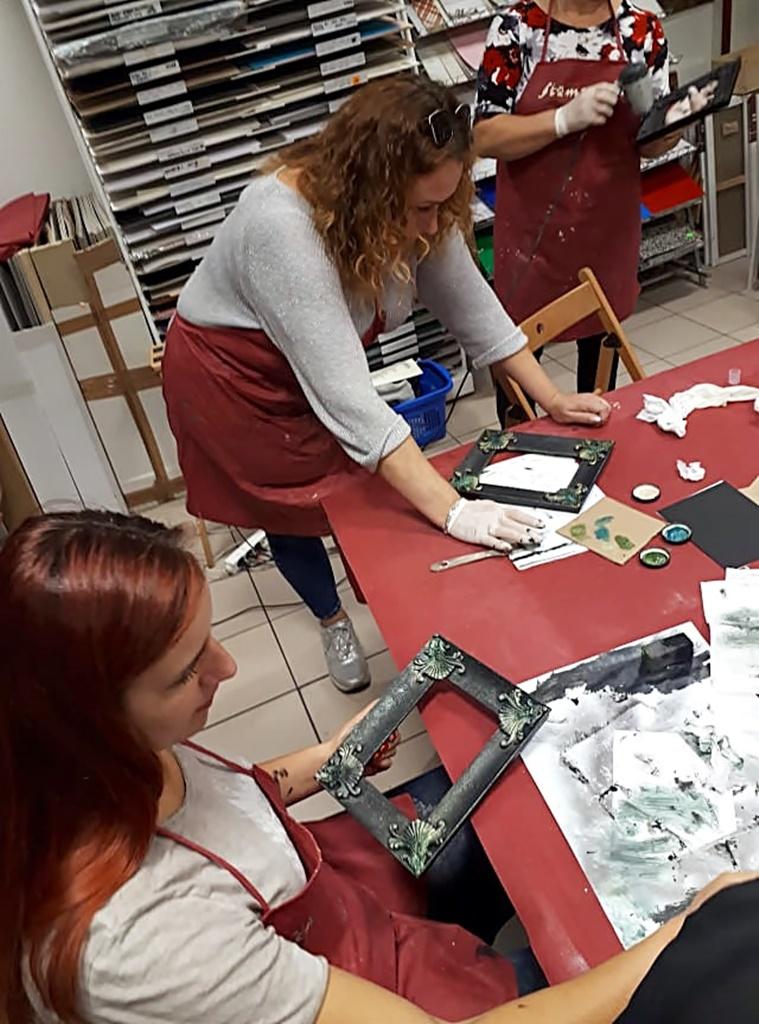 arthobbystudio warsztaty028 20191030efekt lustra ramka