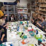 arthobbystudio warsztaty033 20191121foamiran kreatywna pianka kwiaty z foamiranu 150x150