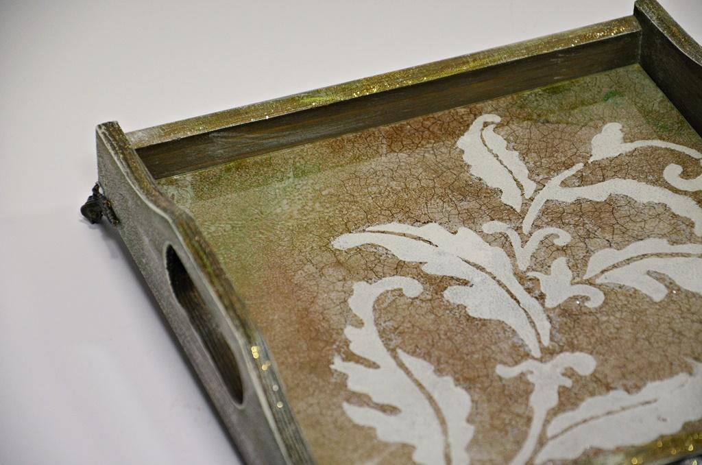 warsztaty038 20200122taca vintage mixmediia szklo