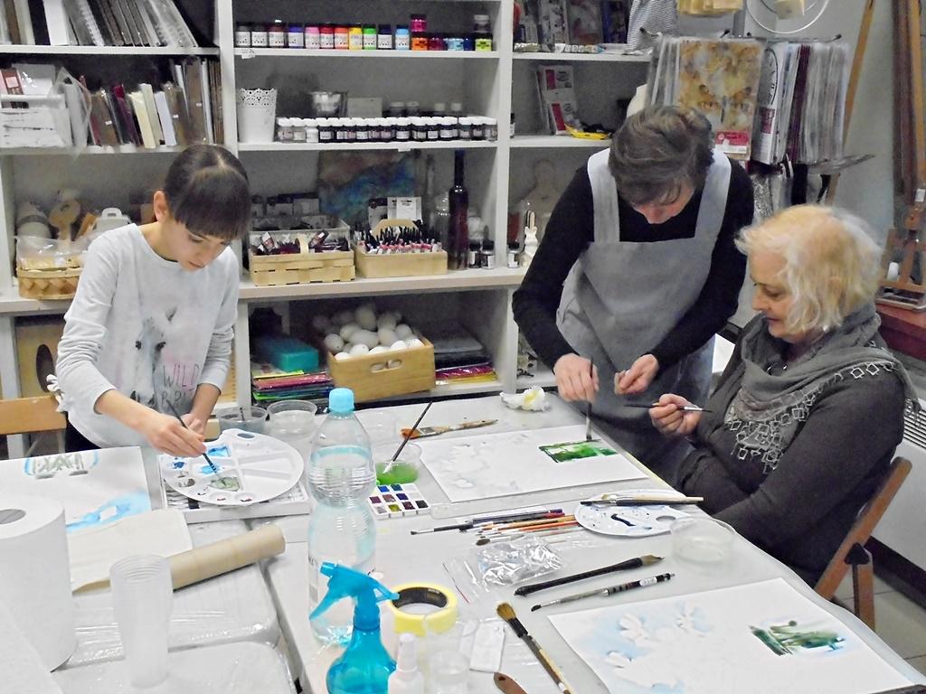 warsztatyDSC04839akwarela akwarelowe malarstwo tatiana majewska arthobbystudio kwiaty