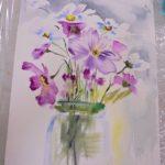 warsztatyDSC04847akwarela akwarelowe malarstwo tatiana majewska arthobbystudio kwiaty 150x150