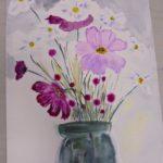 warsztatyDSC04848akwarela akwarelowe malarstwo tatiana majewska arthobbystudio kwiaty 150x150
