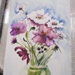 warsztatyDSC04849akwarela akwarelowe malarstwo tatiana majewska arthobbystudio kwiaty 150x150