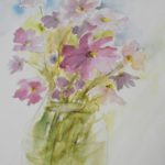 warsztatyDSC04850akwarela akwarelowe malarstwo tatiana majewska arthobbystudio kwiaty 150x150