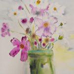 warsztatyDSC04852akwarela akwarelowe malarstwo tatiana majewska arthobbystudio kwiaty 150x150