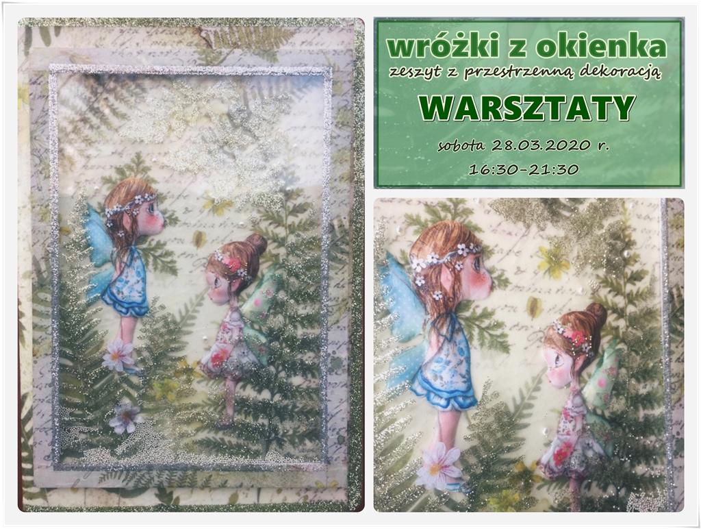 plakat arthobbystudio lublin beata woskowiak zeszyt wrozki blog