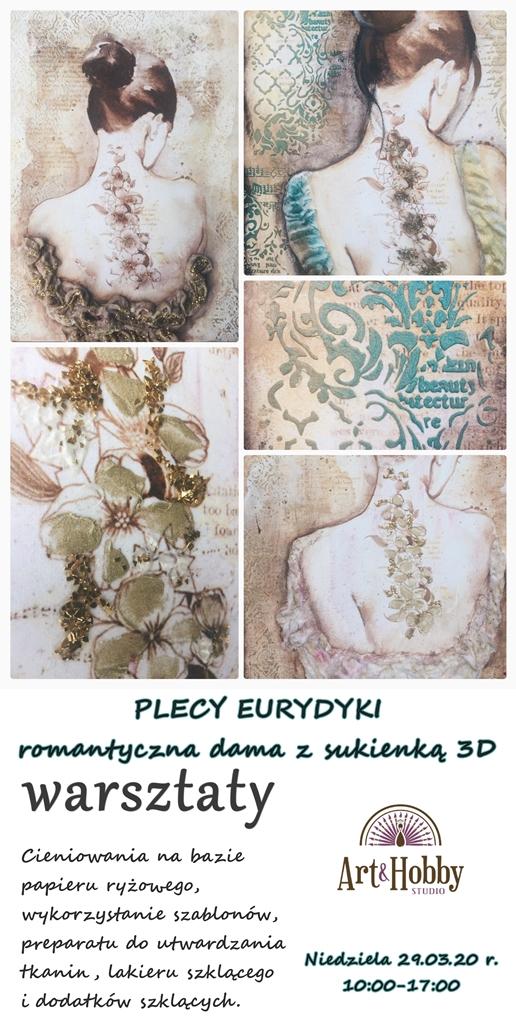 plakat arthobbystudio lublin beta woskowiak warsztaty plecy eurydyki blog