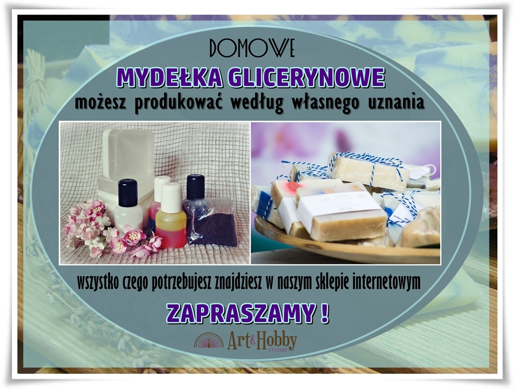 plakat arthobbylublin lublin sklep internetowy mydelka glicerynowe 2