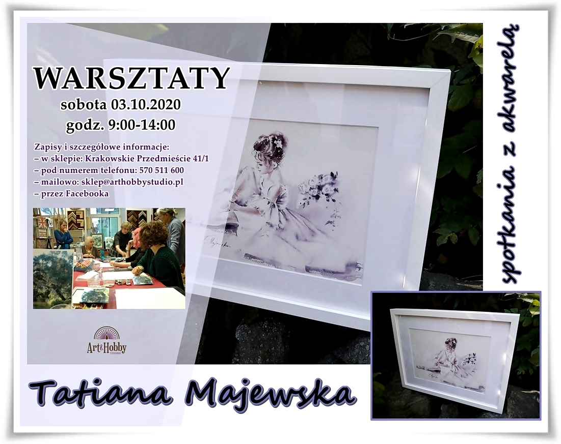 Tatiana Majewska warsztaty baletnica sklep