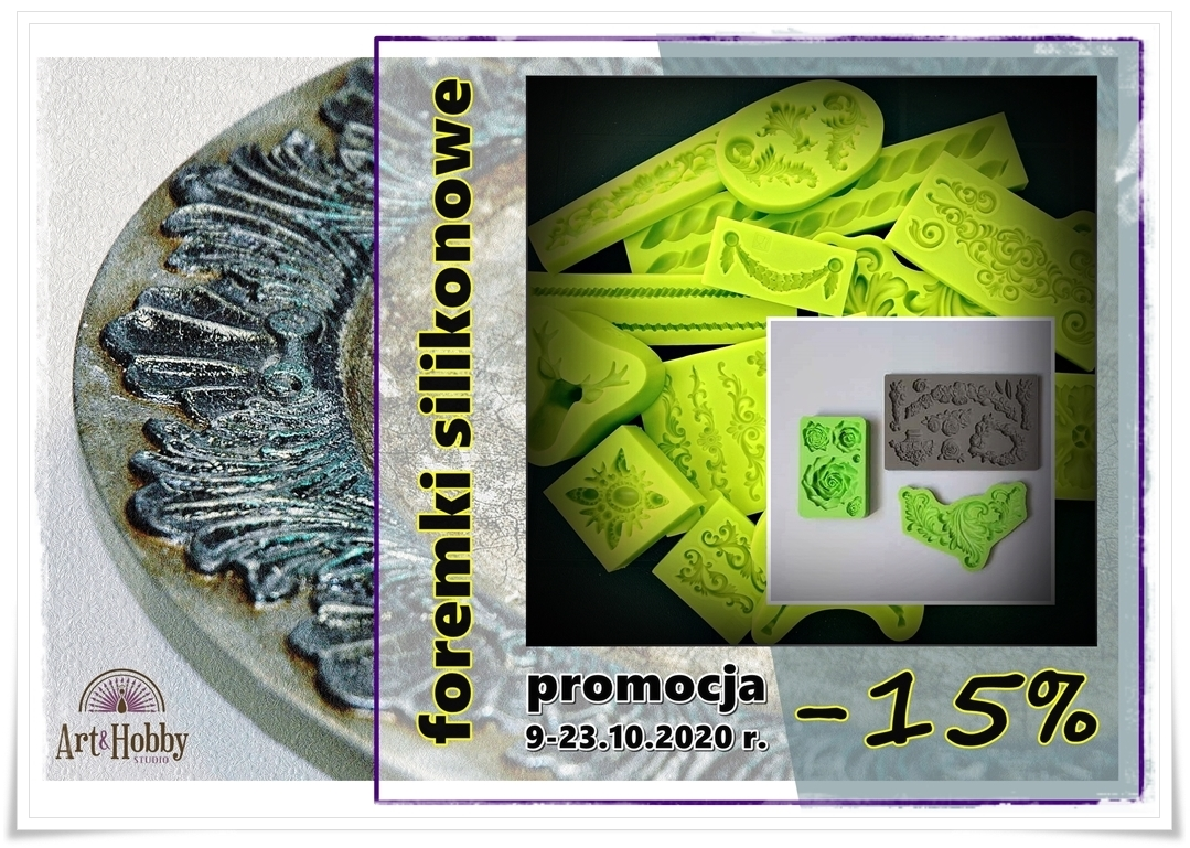 plakat promocja foremki silikonowe arthobbystudio lublin